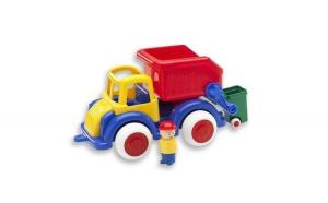 Camion Viking Toys Gunoi cu 2 figurine