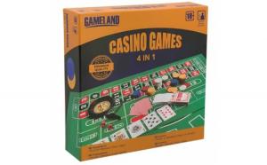 Set pachet joc de societate Casino, 4 in
