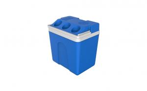 Lada frigorifica auto electrica, capacitate 25l, albastru