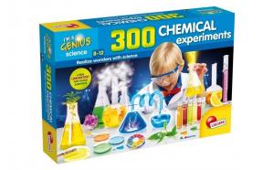Joc sunt un geniu, Laborator de chimie