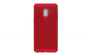 Husa Samsung Galaxy A8 2018 Flippy Ultra Slim cu aerisire Rosu