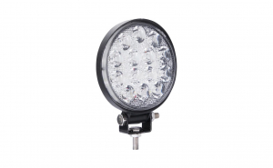 Set 2 x Proiectoare auto, rotunde, 42W, 14 Led-uri