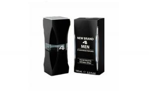 Apa de toaleta New Brand 4 Men, Barbati