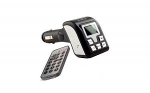 Modulator FM auto cu bluetooth  si telecomanda, slot SD si USB afisaj LCD Mp3, la numai 58 RON de la 140 RON