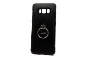 Husa Samsung Galaxy S7 Edge Motomo Ring Negru