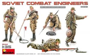 1:35 Soviet Combat Engineers - 5 figures 1:35