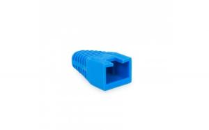 Globiz - Protector de cablu, 8P8C - Albastru - 100 buc./pachet