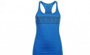 Top dama Adidas Linear Blue, la doar 99 RON in loc de 199 RON