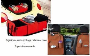 Organizator scaun+Organizator portbagaj