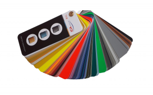 Paletar de culori tip evantai RAL, 198