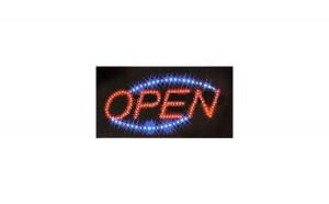 Reclama luminoasa - Open
