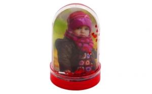 Glob foto inimi personalizat fata/verso cu pozele preferate
