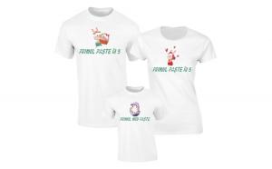 Set de tricouri pentru Familie Primul