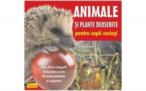 Animale si plante deosebite pentru copii curiosi, autor Diana Rotaru