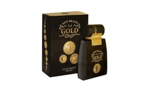Apa de toaleta New Brand Gold, Barbati