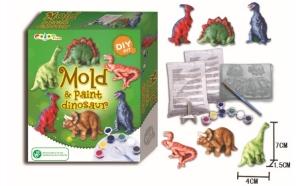 Set de creatie si pictura Dinozaurii, Ziua copilului, Baietei
