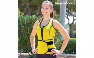 Vesta-centura sport cu efect sauna, XL