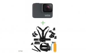 GoPro HERO7 Silver+Pachet accesorii