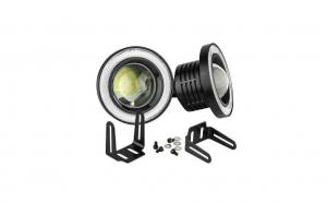 Set 2 proiectoare auto LED, lupa