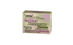 Complex detoxifiant natural 40cpr
