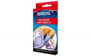 BROS – difuzor lavanda cu agatatoare anti molii