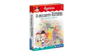 Joc Clementoni Agerino, Sa descoperim Romania