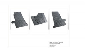 Covoare cauciuc FORD TRANSIT VII 2006-2013 ( D0072 P40 )