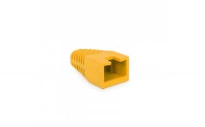 Globiz - Protector de cablu, 8P8C - Galben - 100 buc./pachet
