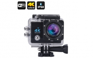 Camera video sport, 4K - Ultra HD, Wifi, Waterproof Action Cam
