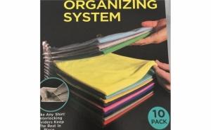 Set 10 organizatoare pentru haine sau birotica