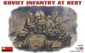 1:35 Soviet Infantry at Rest (1943-45) - 4 figures 1:35