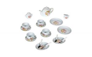 Set de joaca pentru copii din ceramica cu 21 de piese