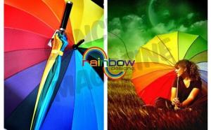 Umbrela Ploaie, Best Quality Rainbow, Alerta meteo: Ploua cu reduceri!