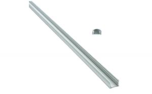 Profil aluminiu 886AL capac transparent
