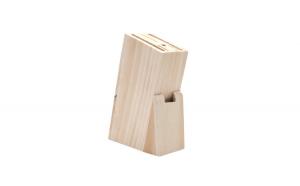 Suport pentru cutite, lemn, 22.5 x 14 x