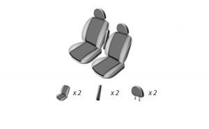 Set Huse Scaun Ford Transit (1+1) 2006-2011 Umbrella 45921