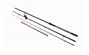 Lanseta Feeder, Strong Hammer,  3.90 m actiune 80-140-200 g din 3 tronsoane si 3 varfuri