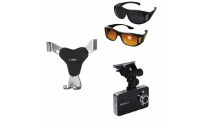 Pachet auto: Camera video auto + set 2