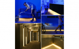 Sir LED cu senzor de miscare