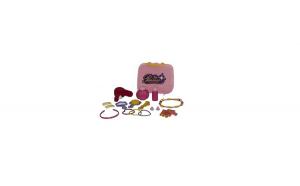 Set Accesorii frumusete Pentru Fetite in gentuta - Little Princess ,30 piese