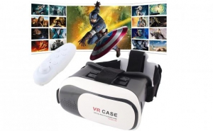 Ochelari Realitate Virtuala + maneta bluetooth, la 159 RON in loc de 399 RON. Filme, jocuri, poze, aplicatii. Vezi video