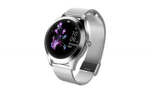 Ceas Smartwatch Kingwear KW10 argintiu,