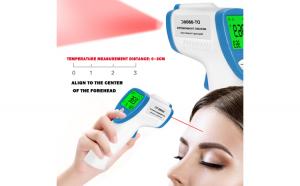 Termometru digital tip pistol cu