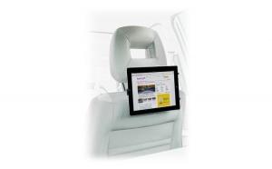 Suport pentru telefon/ tableta, montare tetiera masinii