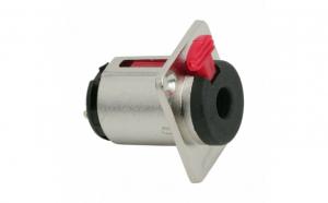Soclu JACK cu inchidere de siguranta montabil stereo • 6,3 mm - 05668