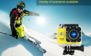 Cameră Sport Originala SJCAM SJ4000 Full HD 1080P, 12 MPx + Card 8GB Gratuit, la doar 439 in loc de 900 RON. Vezi VIDEO!