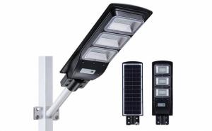 Proiector cu panou solar 60W senzor miscare