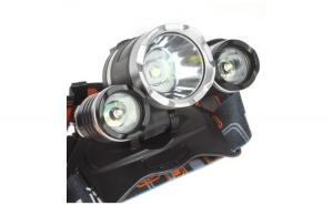 Lanterna frontala, RJ-3000, Aluminiu,