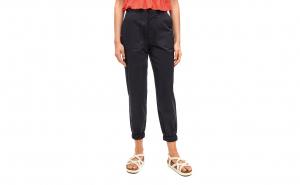 Pantaloni Dama Pull&Bear, Black Cargo, TeamDeals 10 Ani, Fashion