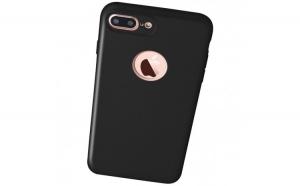 Husa Apple iPhone 7 Plus Flippy Full Silicone 360 Negru